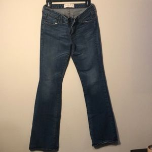 Paper Denim Cloth Boot Cut Jeans